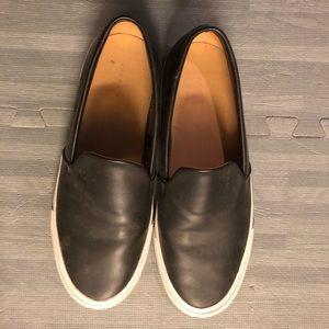 Zara Leather Slip-ons